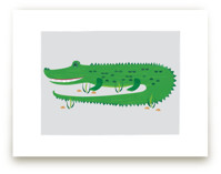 The Happy Alligator by Rebecca Marchese