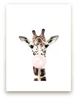 Bubblegum Animals: Giraffe