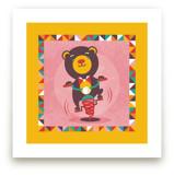 Playground Bear by Mandy Rider