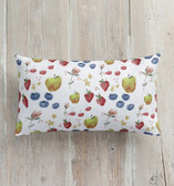 FLORA and the FRUIT 3 Pillows