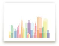 New York Sky Lines by Jessie Steury