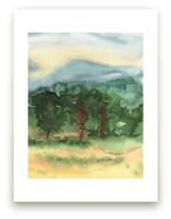 September Trees Donegal... by Eva Marion