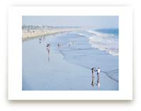 Santa Monica Beach 2 by Jan Kessel