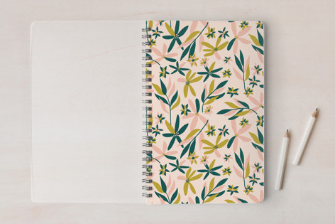 Abstract Blooms Notebooks