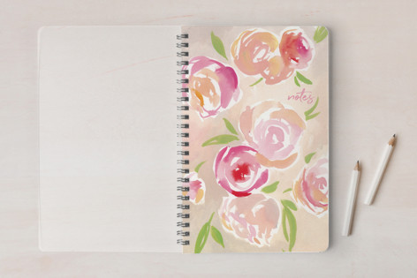 Old Fashioned Floral Notebooks