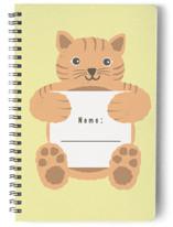 Kitten Notebook by Jennifer Holbrook