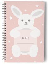 Bunny Notebook by Jennifer Holbrook
