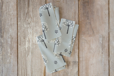 Flowering Trees Self Launch Napkins