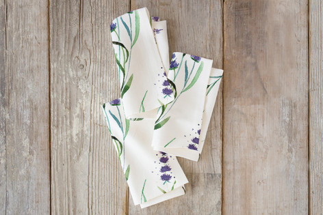 provencial summer Self Launch Napkins