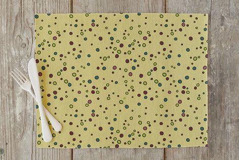 Throwing Stones Self Launch Placemats