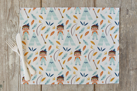 Tepee Self Launch Placemats