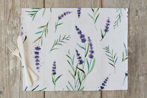 provencial summer Self Launch Placemats