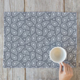 Perfect Paisley Self Launch Placemats