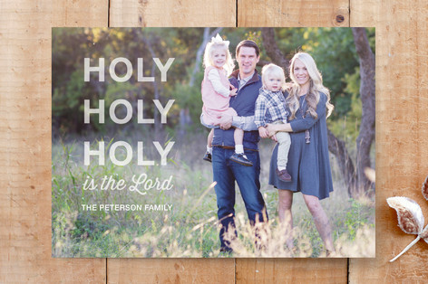 Holy Trio Custom Stationery