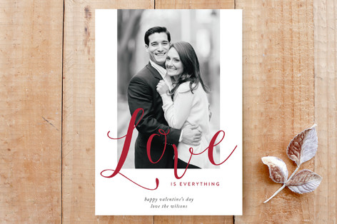 Love Is Everything Custom Stationery