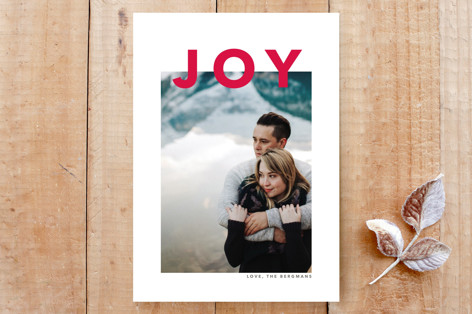 simply modern joy Custom Stationery