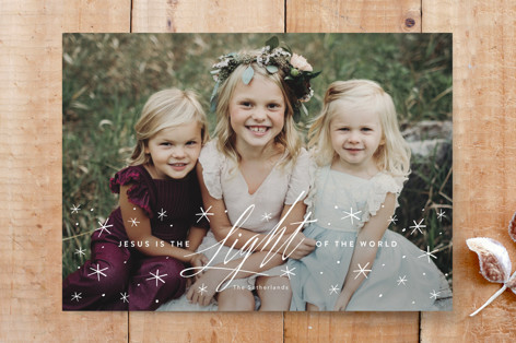 light of the world Custom Stationery