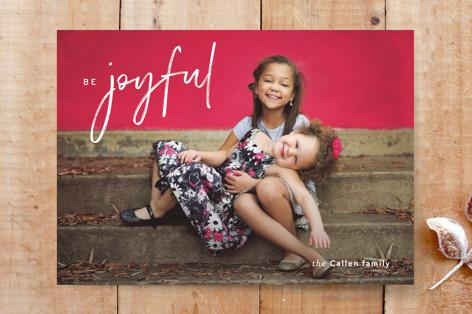 be joyful photo Custom Stationery