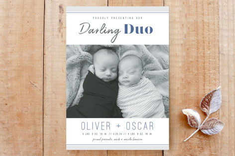 Darling Duo Custom Stationery