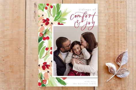 Tidings of Comfort & Joy Custom Stationery