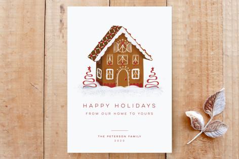 Gingerbread Home Custom Stationery
