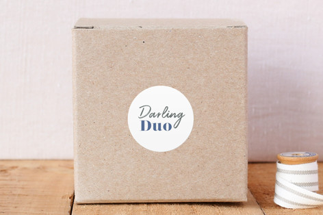 Darling Duo Circle 2 Stickers
