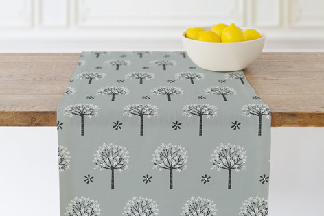 Flowering Trees Self Launch Table runners