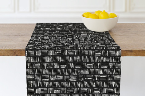 City Crosshatch  Self Launch Table runners