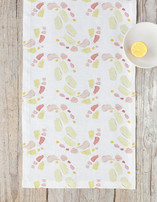 Paint Palette: Peaches & Creams Self Launch Table runners