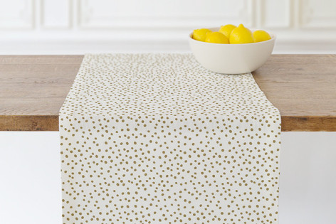 Delicate Dots-1 Self Launch Table runners