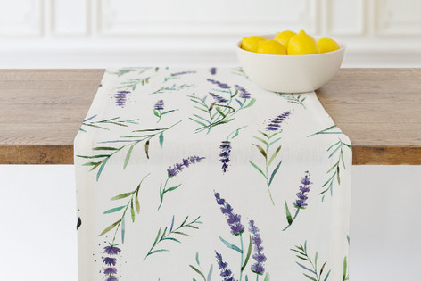 provencial summer Self Launch Table runners