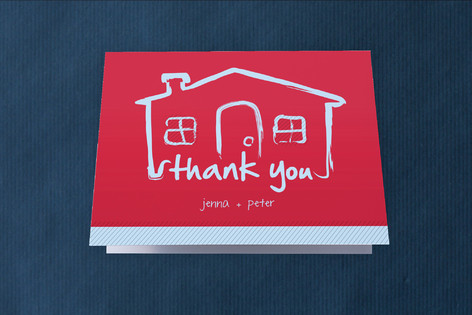 Movin' In with Style Moving Announcements Thank You Cards