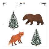 Fox and Bear by Elly