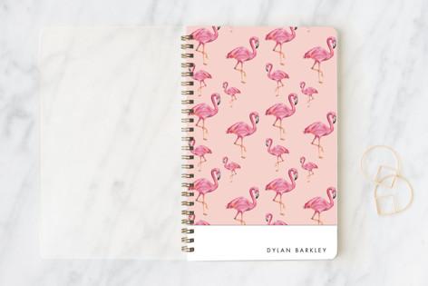 Flamingos Galore Notebooks