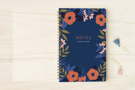 Peppy Peonies Notebooks