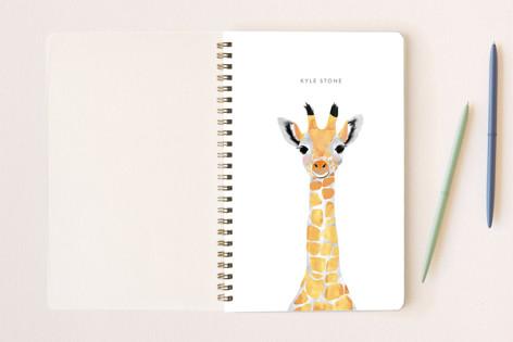 Baby Animal Giraffe Notebooks