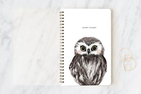 Baby Animal Owl Notebooks