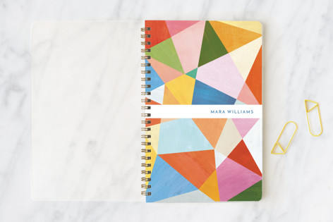 Painted Geometry Notebooks