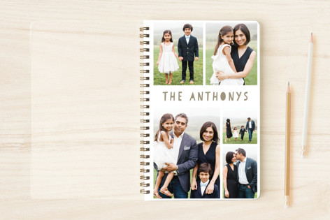 My Family Scrapbook Notebooks