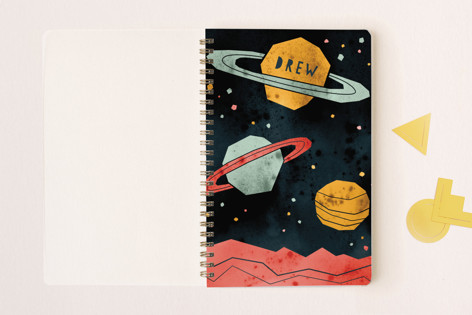 Space Planets Notebooks