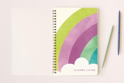 Bright Rainbow Notebooks