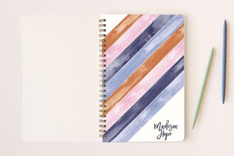 Modern Madison Stripes Notebooks