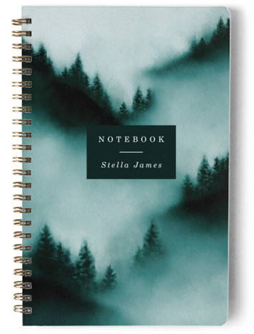 Mountain Day Planner, Notebook, Or Address Book
