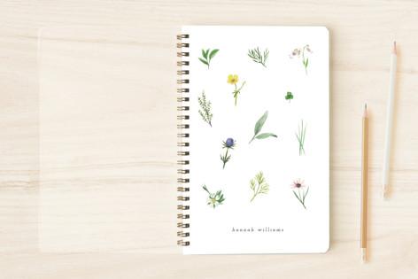 herbs & wildflowers Notebooks