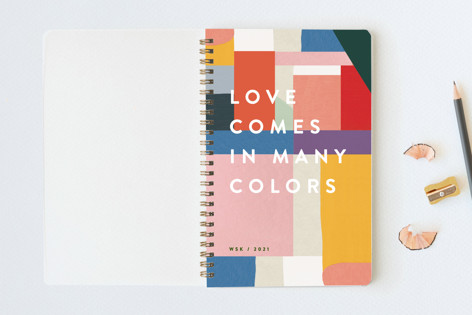 Many Colors Notebooks