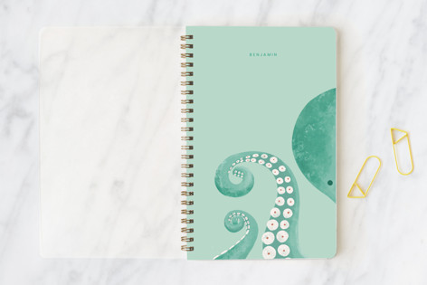 Mr Octopus Notebooks
