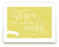 No Matter How Small Art Prints