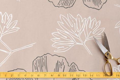 Soft leaves Fabric