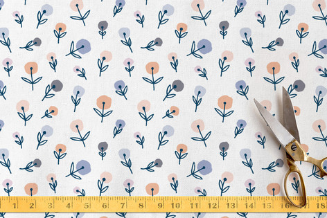 Funky Florals Fabric