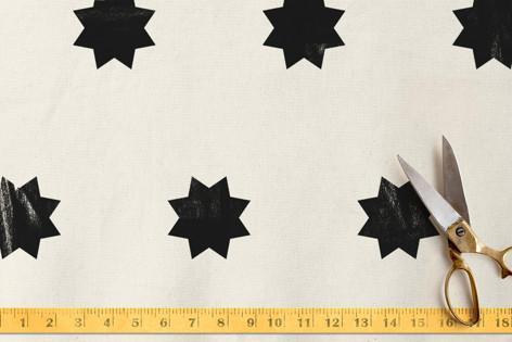 geo stars Fabric